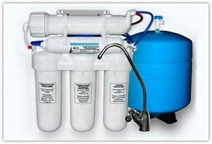 Очистка воды с помощью фильтров с системой обратного осмоса