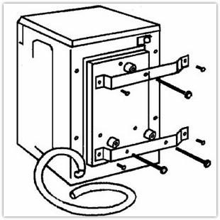 Как своими руками установить стиральную машину автомат в ванной или в другом помещении