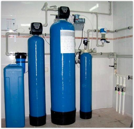 Системы очистки воды из скважины и колодца