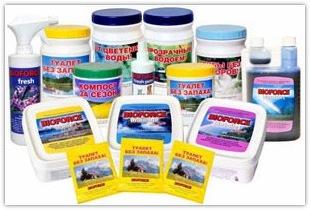 Разновидности биопрепаратов и бактерий для очистки выгребной ямы или септика