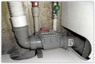 Обратный клапан для канализации, разновидности и способы монтажа в систему
