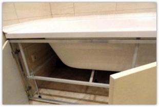 Как своими руками устанавливать ванну, сделанную из любого материала